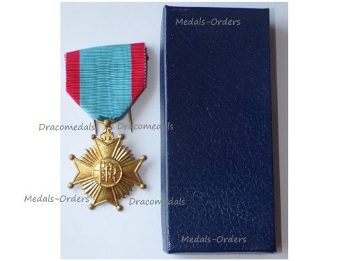Belgium Commemorative Medal for the Centenary of the RTT Belgian Telegraphic Service  1846 1946 Boxed