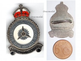 Belgium Technical Training School Royal Belgian Air Force cap badge insignia RBAF Decoration