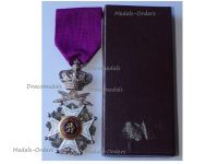 Belgium Order Leopold I Knight's Cross Military Division 1952 Bilingual Boxed
