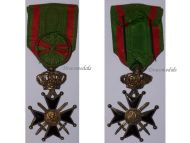 Belgium WW1 Military Cross 1st Class 25 years Service Belgian Army Medal Award Decoration WWI 1914 1918