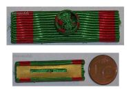 Belgium WW2 Military Cross 1st Class 25 years Service Ribbon bar WWII Belgian Army Medal Decoration BIMEXCO