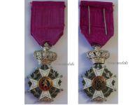 Belgium WWI Order Leopold I Knight's Cross Civil Division