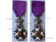 Belgium WWI Order Leopold I Knight's Cross Military Division