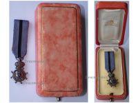 Belgium Belgian Congo WWI Order Leopold II Knight's Cross Boxed by DeGreef MINI
