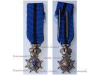 Belgium Belgian Congo WWI Order Leopold II Knight's Cross MINI