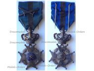 Belgium Belgian Congo WWI Order Leopold II Knight's Cross with Swords