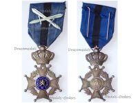 Belgium Belgian Congo WWII Order Leopold II Knight's Cross with Swords
