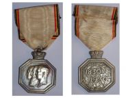 Belgium Independence Centenary 1830 1930 Belgian Military Medal Belgian Decoration Award