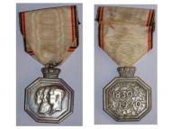 Belgium Independence Centenary 1830 1930 Belgian Military Medal Belgian Decoration Award