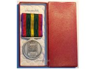 Belgium WW2 Fraternal Union Former Combatants Military Medal WWII 1940 1945 Belgian Decoration boxed