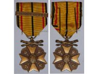 Belgium WWII Civic Medal for War Merit 3rd Class with Clasp 1940 1945