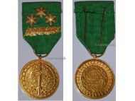 Belgium WW1 WW2 Prisoners War PoW Labor Valorem Civil Military Medal palms 3 stars Belgian Decoration Award