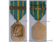 Belgium WW2 Africa Campaign Commemorative Military Medal bar Burma Birmania Belgian WWII Decoration 1940 1945
