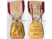 Belgium WW2 Military Medal Air Defense Defence WWII 1940 1945 Belgian Decoration Award