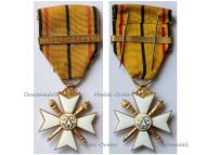 Belgium WWII Civic Cross for War Merit 1st Class with Clasp 1940 1945