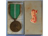 Belgium WWII Medal for the Militia of the Independence Front Resistance Group 1940 1945 by Lammers Boxed
