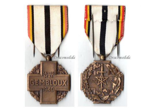 Belgium WW2 Gembloux Battle Military Medal 1940 1945 Belgian WWII Decoration Award Blitzkrieg Von Kluge