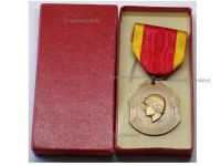 Belgium WWII Liberation of Liege Commemorative Medal 1940 1945 Boxed