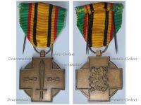 Belgium WWII Military Combatant's Cross 1940 1945