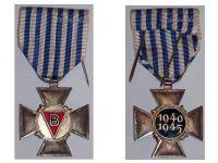 Belgium WW2 Cross Political Prisoners 1940 1945 Civil Belgian WWII Medal Decoration