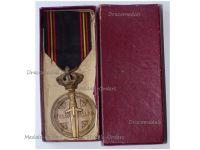 Belgium WWII Prisoners of War Medal Boxed by Van Hove-Baugniet