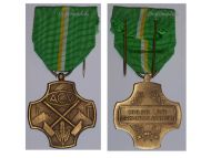 Belgium WW2 Membership Syndicate Trade Union ACV Civil Medal Bronze Belgian Decoration Award 1940 1945