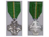 Belgium WW2 Membership Syndicate Trade Union ACV Civil Medal Silver Belgian Decoration Award 1940 1945