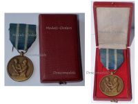 Belgium WWII Deportees Commemorative Medal Boxed
