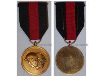 Belgium WW1 WW2 National Federation Volunteers Military Medal Belgian Decoration Award WWI WWII 1914 1940