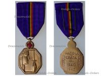 Belgium WWII Country's Gratitude Gold Medal 1940 1945 for War Time Bravery in the Humanitarian Field