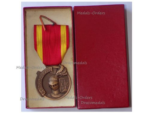 Belgium WWII Zero Resistance Group Commemorative Medal Boxed