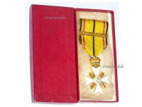 Belgium WWII Civic Cross for War Merit 1st Class with Clasp 1940 1945 Boxed by Huis Stockaer