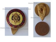 Belgium WWI Lapel Pin Compiegne 11-11-18 to Treaty of Versailles 28-06-19  Badge by DeGreef