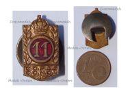 Belgium WWI Badge of the Veterans Confederation of Post War Fraternals COFAG CONOV
