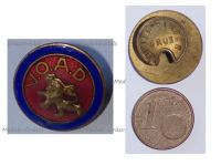 Belgium WWII Badge for the Support of the Widows Orphans and Beneficiaries VOAD by Pirsch