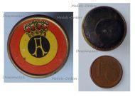 Belgium WWI Roundel Belgian Military Aviation Lapel Pin King Albert 1914 1918 Badge