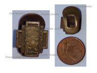 Belgium WWI Lapel Pin Fire Cross 1914 1918 Badge MINI