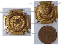 Belgium WWI Fire Cross Badge 1914 1918 by Waucquez Large Type