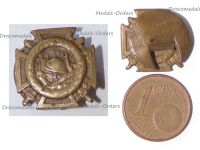 Belgium WWI Fire Cross Badge 1914 1918 by Waucquez Small Type
