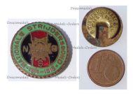 Belgium WWI Lapel Pin National Federation of Combatants 1914 1918 Badge