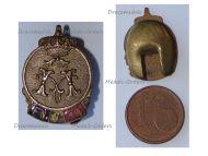 Belgium WWI Lapel Pin Royal Federation of the Veterans of King Albert I Badge