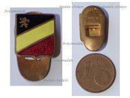Belgium WWI Lapel Pin Belgian Flag Lion Rampant Patriotic Badge by Fibru