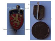 Belgium WWII Belgian Legion Resistance Group Badge