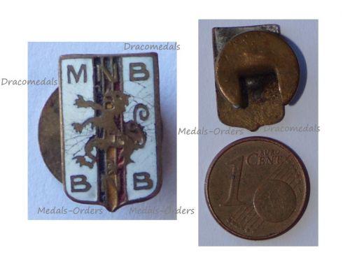 Belgium WWII National Belgian Movement Resistance Group Badge