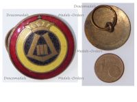 Belgium WWII Belgian Royal Air Force RBAF Roundel Badge with the Cipher of King Leopold III