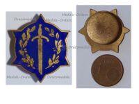 Belgium WWI Lapel Pin Invalid Mutilated Combatants 1914 1918 Badge Large Type