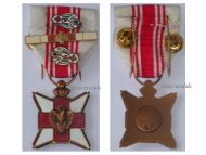 Belgium WW1 Red Cross Blood Donation Civil Medal WWI 1914 1918 Belgian Decoration Award Great War