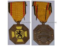 Belgium WW1 Cross 3 Cities West Flanders Military Medal 1914 1918 Commemorative Belgian Decoration WWI