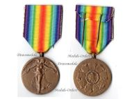 Belgium WWI Victory Interallied Medal Laslo Unofficial Type 1A by Leisek