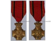 Belgium WW1 Bravery Distinguished Service Military Medal Belgian Decoration Award King Albert WWI 1914 1918